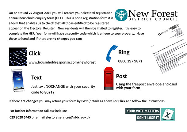 HEF - Household enquiry form