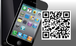 mobile phone with New Forest in Touch app