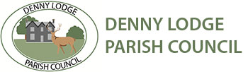 Denny Lodge Parish Council logo